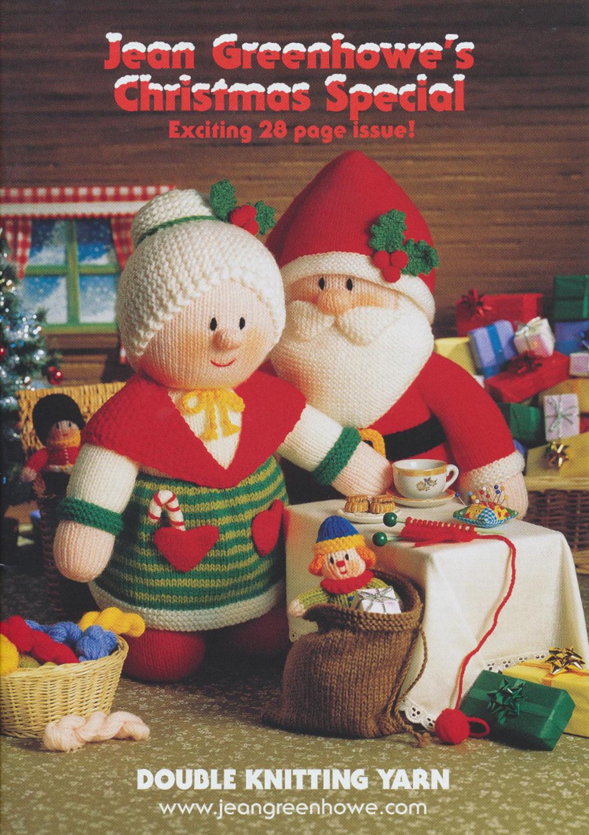 Jean Greenhowe Knitting Books Double Knit DK Doll Toy Teddy Patterns Booklet