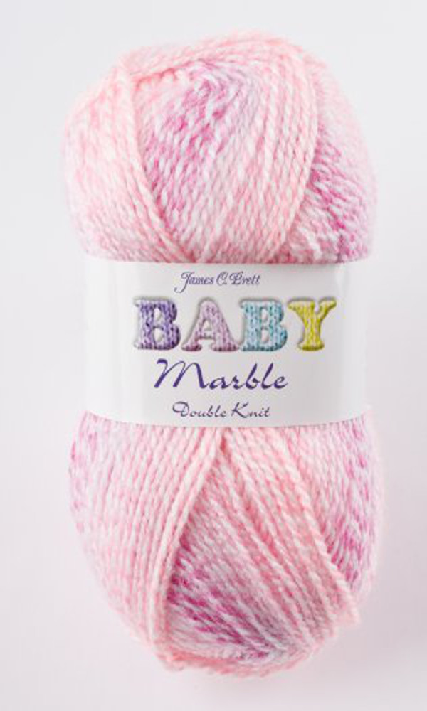 Knitting Patterns For Babies Double Knitting : Baby Marble Double Knit DK Yarn James Brett Soft Acrylic Knitting Wool 100g B...