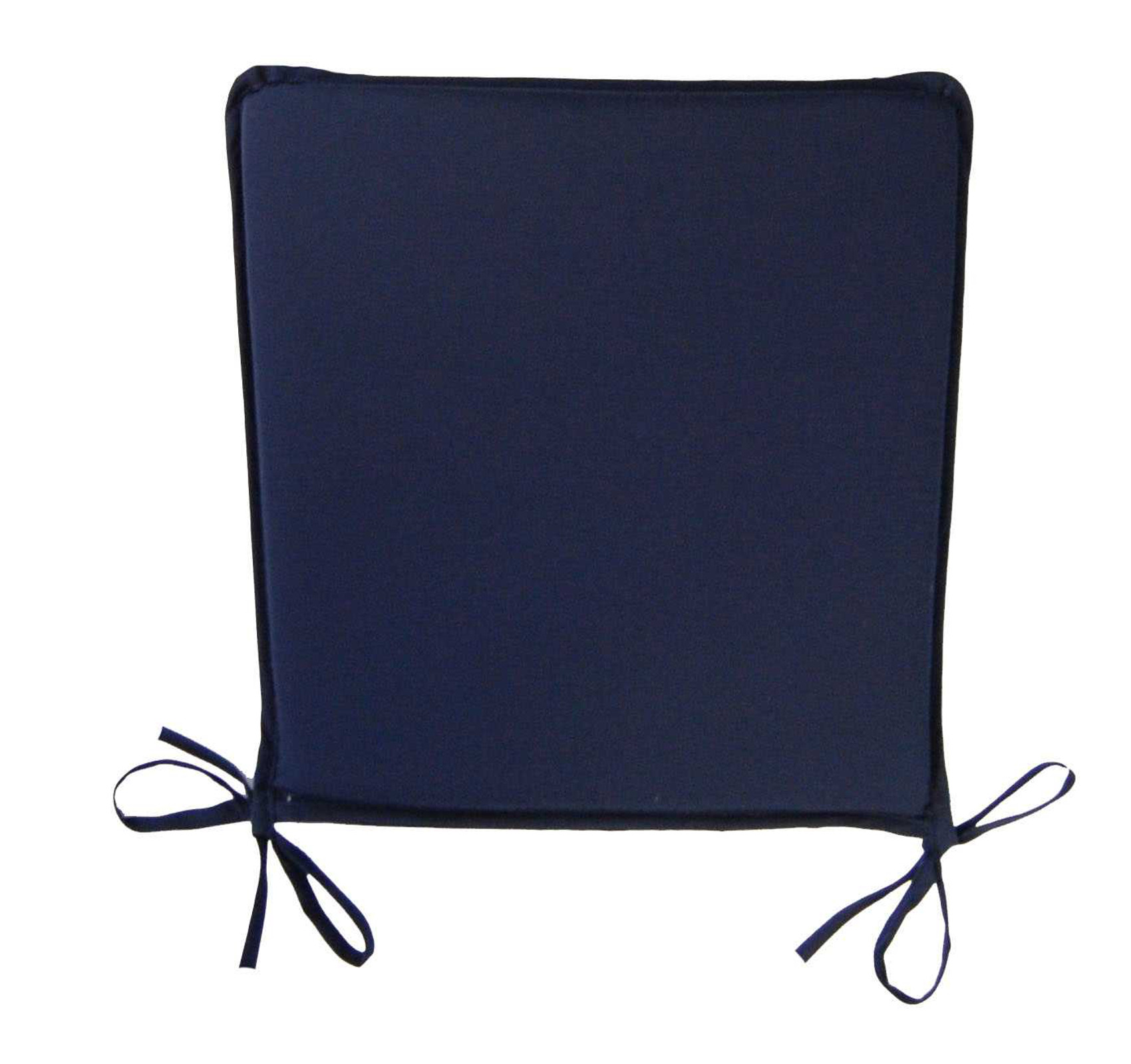 Plain Square Seat Pad Outdoor Garden Dining Kitchen Chair  : square seat pad navy blue from www.ebay.com size 1700 x 1600 jpeg 232kB