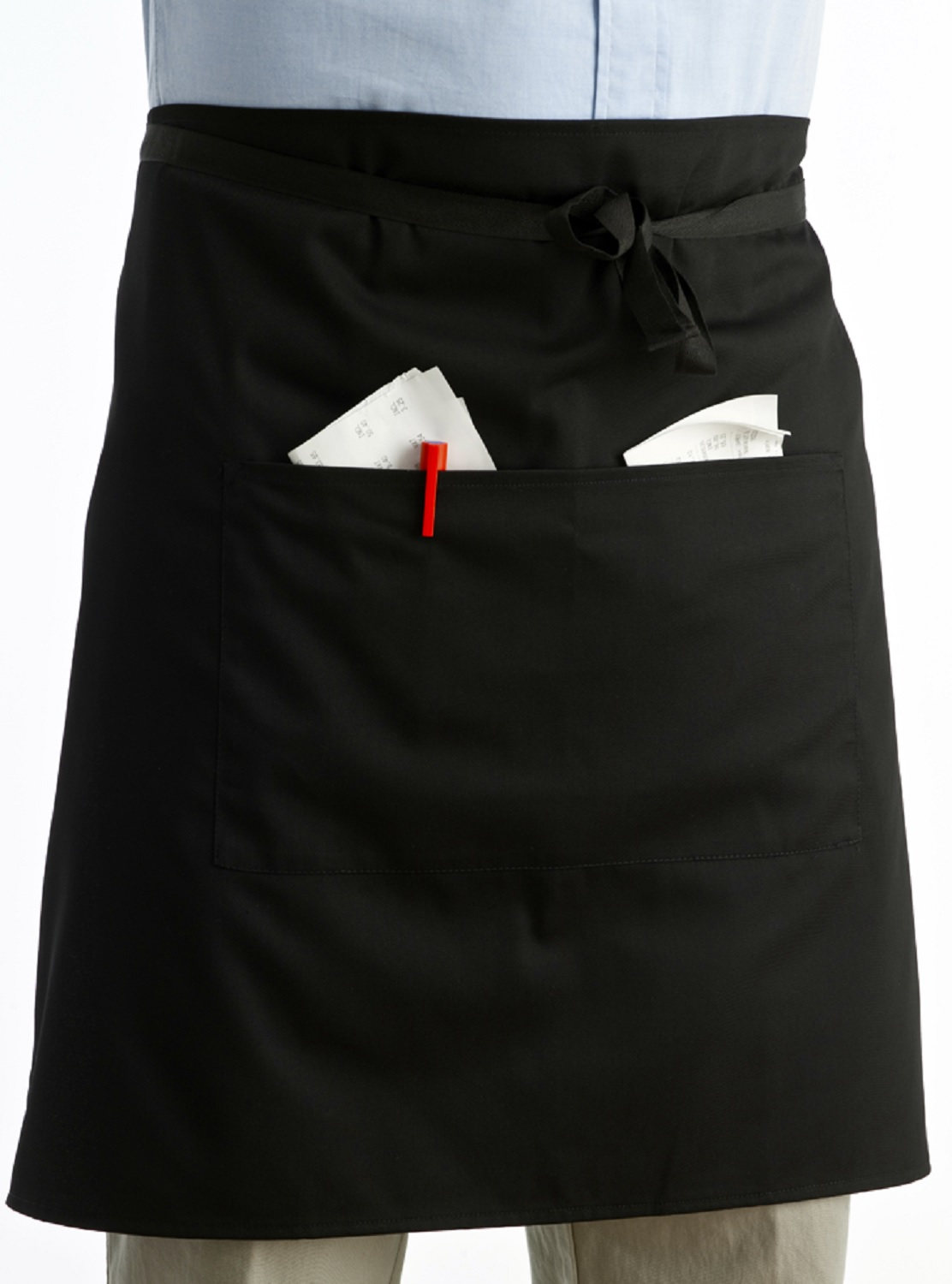 Chefs Half Apron With Pocket Unisex - 200.6KB