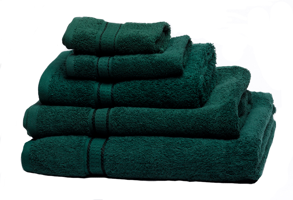 bathroom towel range guest hand bath towels sheet 640g On dark green towels and bathmats