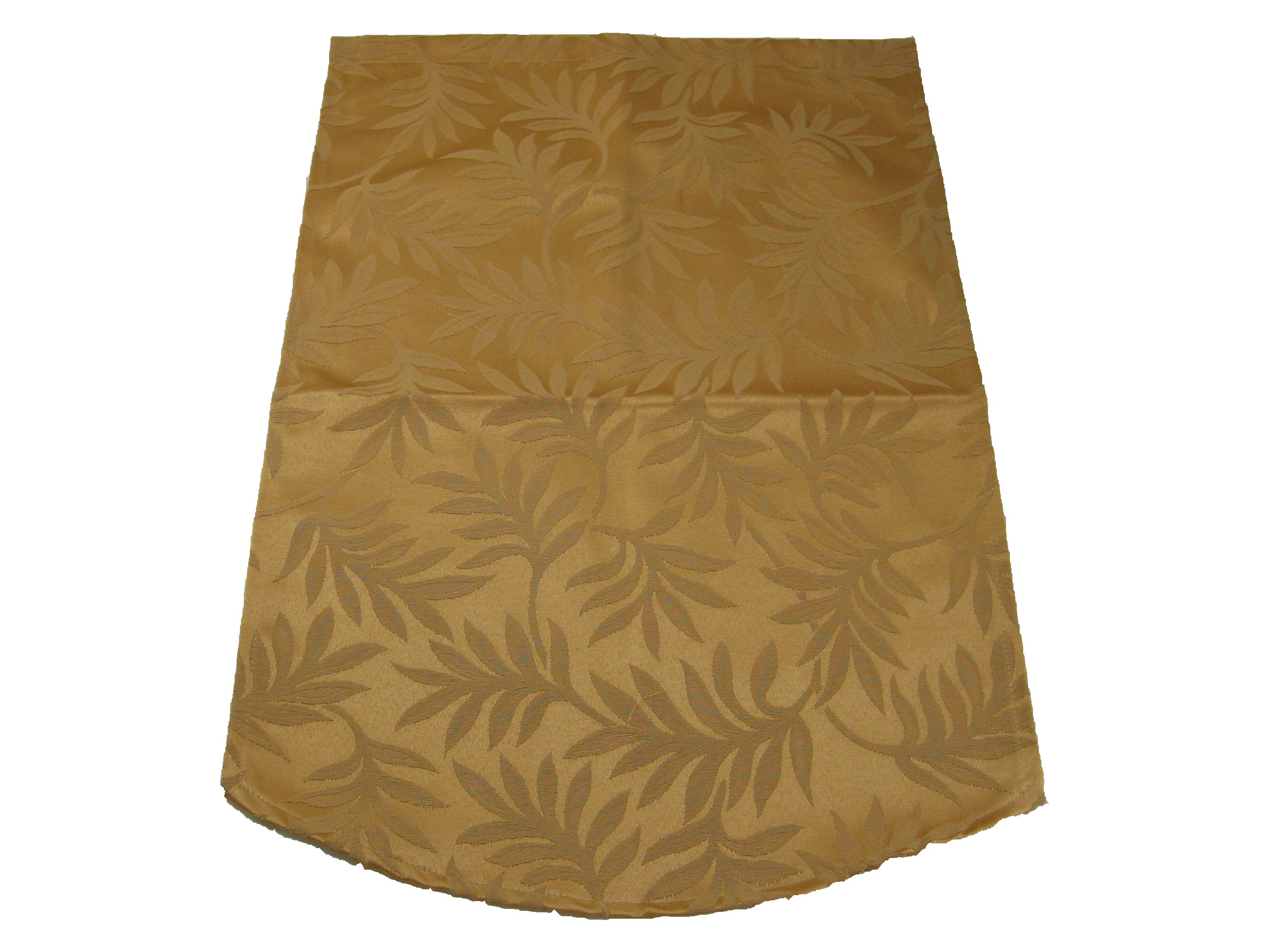 Decorative Chair Back Cover Gold Antimacassar