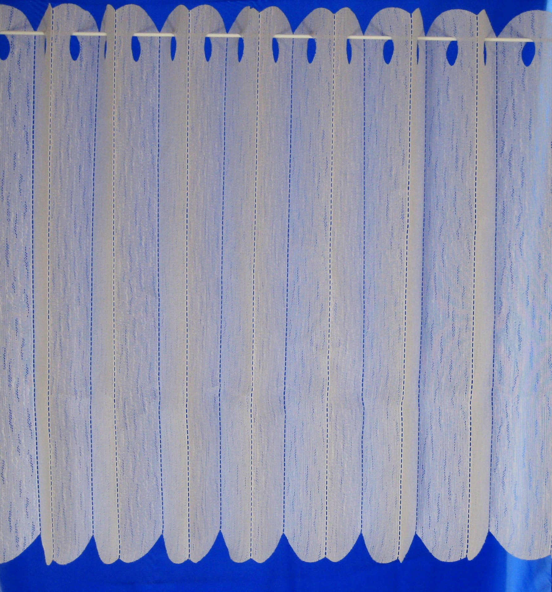 Vertical Lace Blind Louvre Panel 72 Quot X 54 Quot Drop Cream Ebay