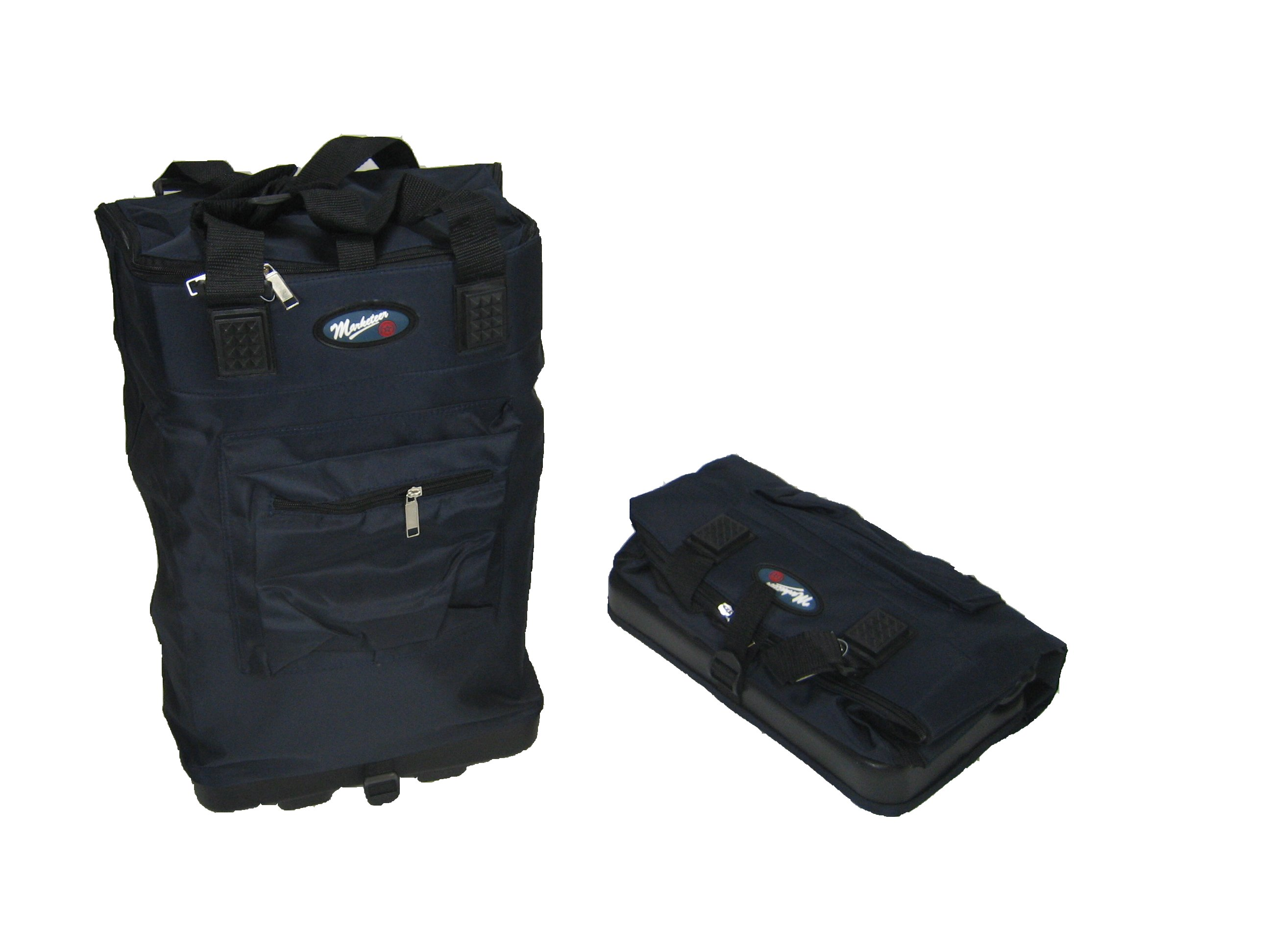 Lightweight Wheeled Cabin Flight Bag Hand Luggage Navy