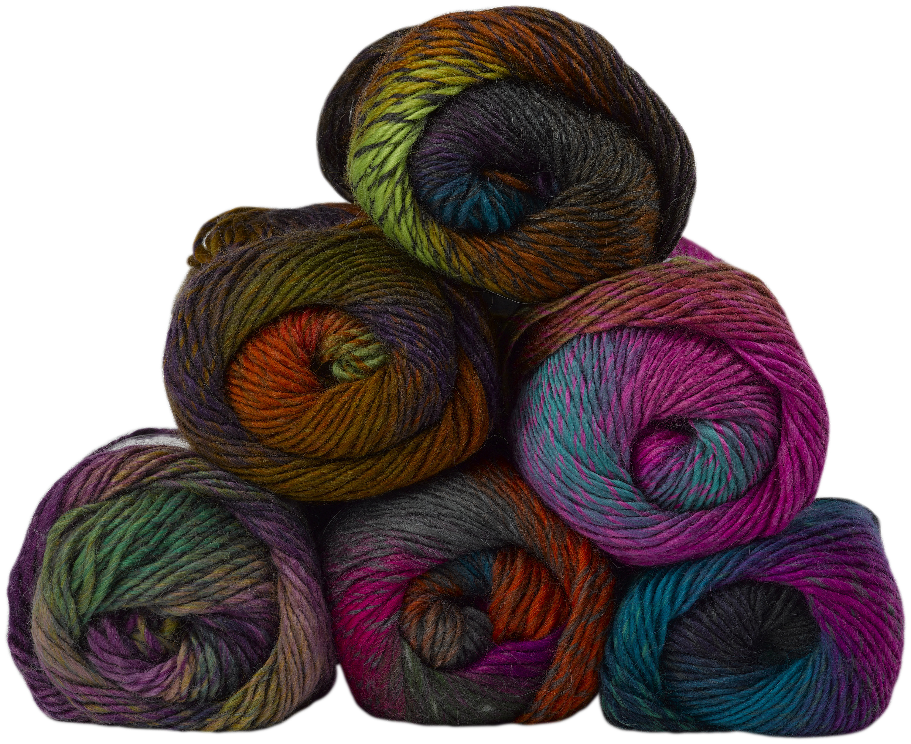 James Brett Vibrant Acrylic Wool Monsoon Aran Modern