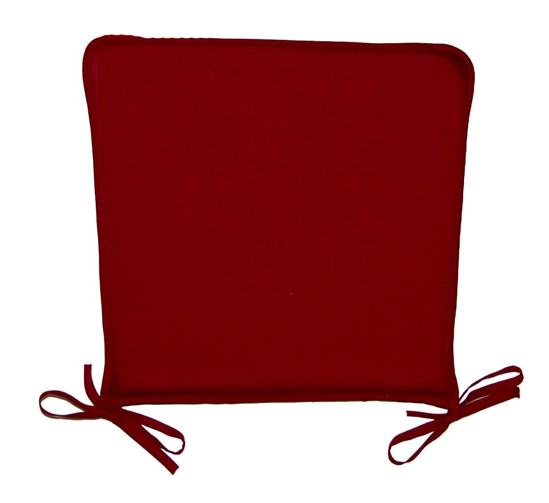 chair seat pad cushions garden furniture dining room cushion pads ties