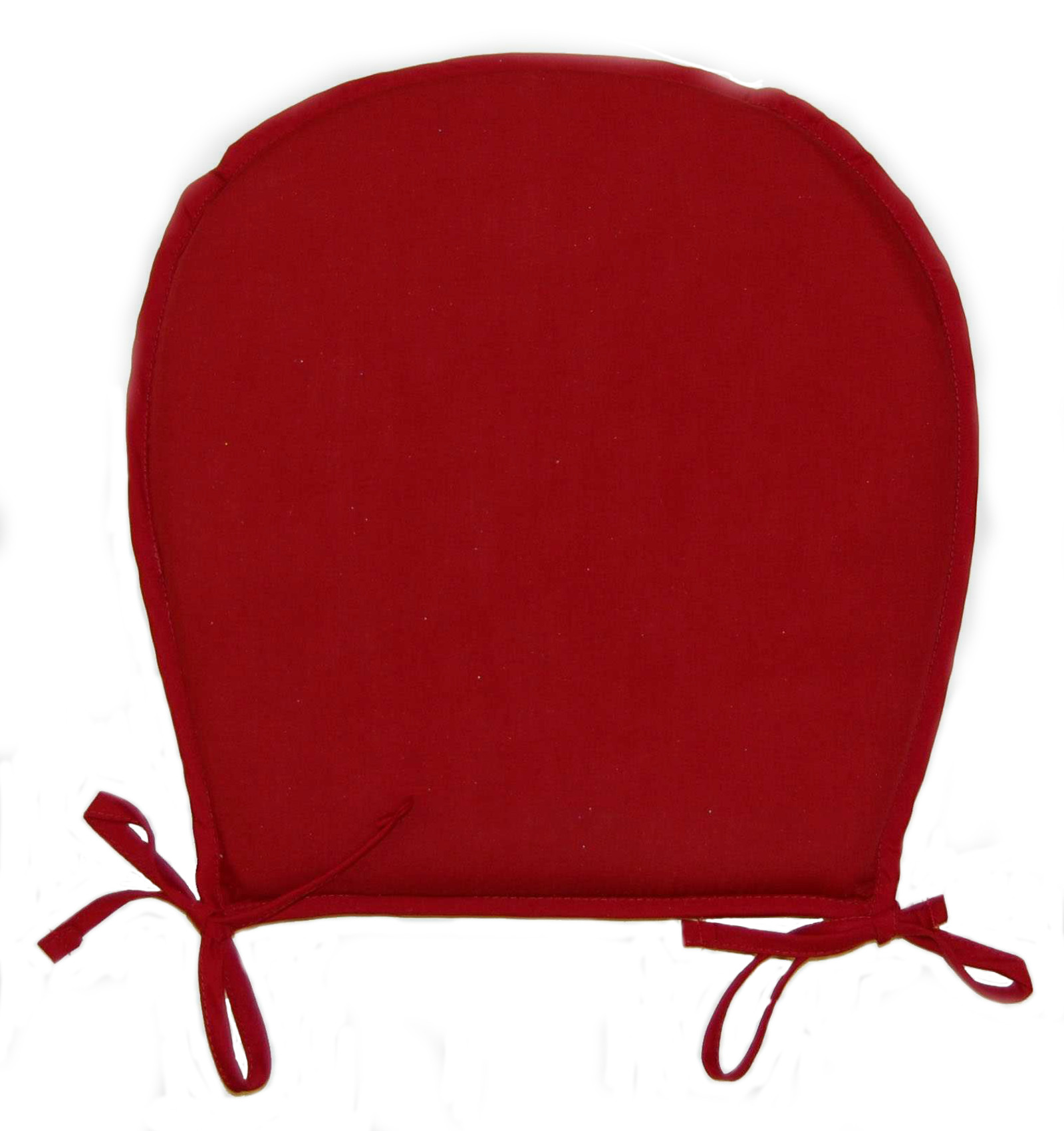 Chair Seat Pads Plain Round Kitchen Garden Furniture  : kitchen chair seat pad burgundy red wine from www.ebay.co.uk size 1600 x 1700 jpeg 239kB