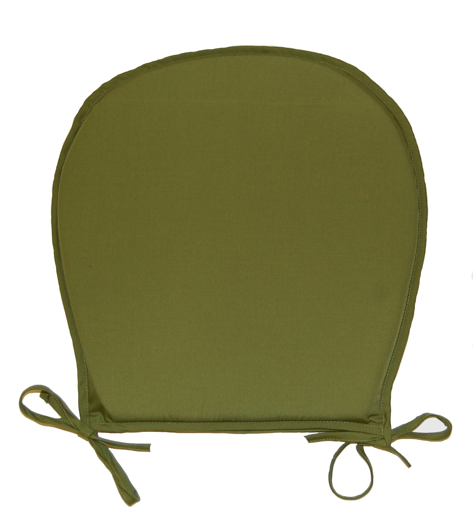 Chair Seat Pads Plain Round Kitchen Garden Furniture Cushion Pad Assorted Colour Ebay