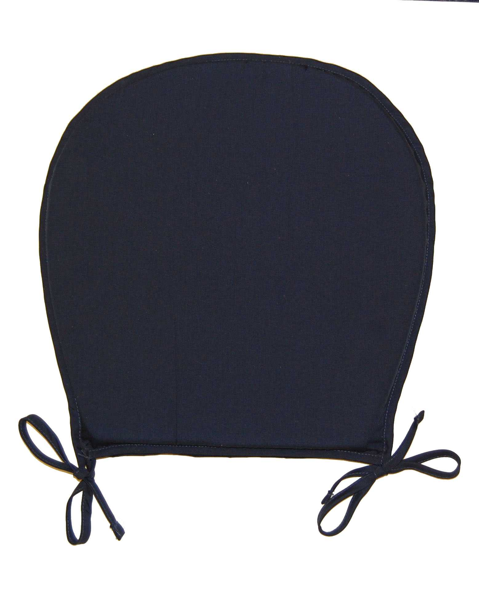 kitchen chair cushions Chair Seat Pads Plain Round Kitchen Garden Furniture