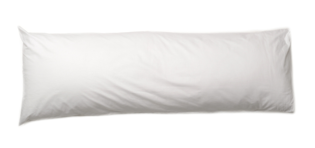 Bolster Pillow Cases Large Pillowcase Covers Single Double King Size White Cream eBay