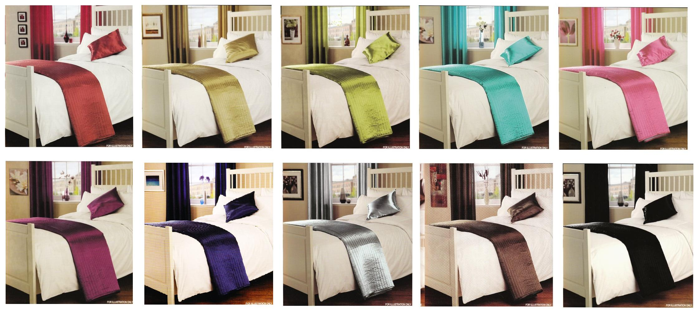Quilted Bed Runner Sizes