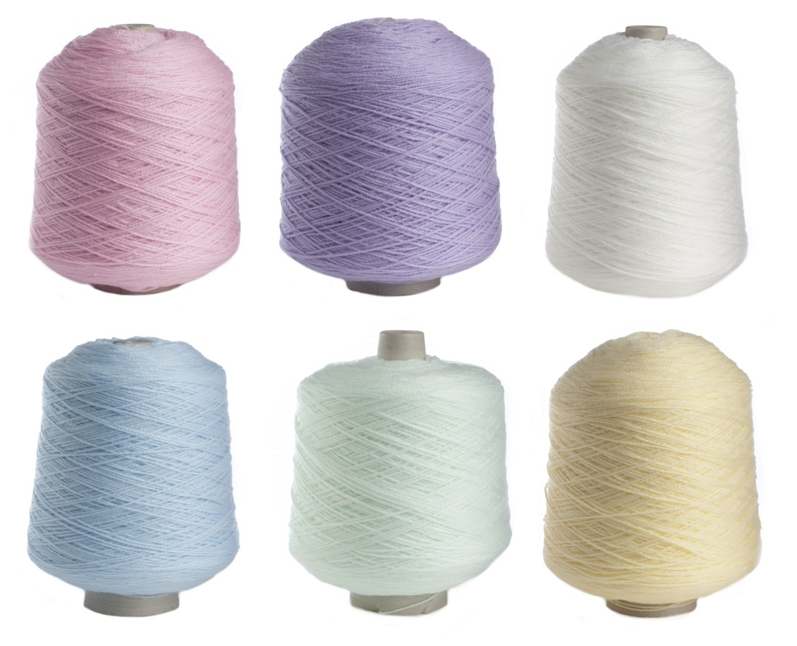 Yarn Knitting : ... Cones-500g-Acrylic-Knitting-Wool-Soft-Yarn-Pastel-Colours-James-Brett