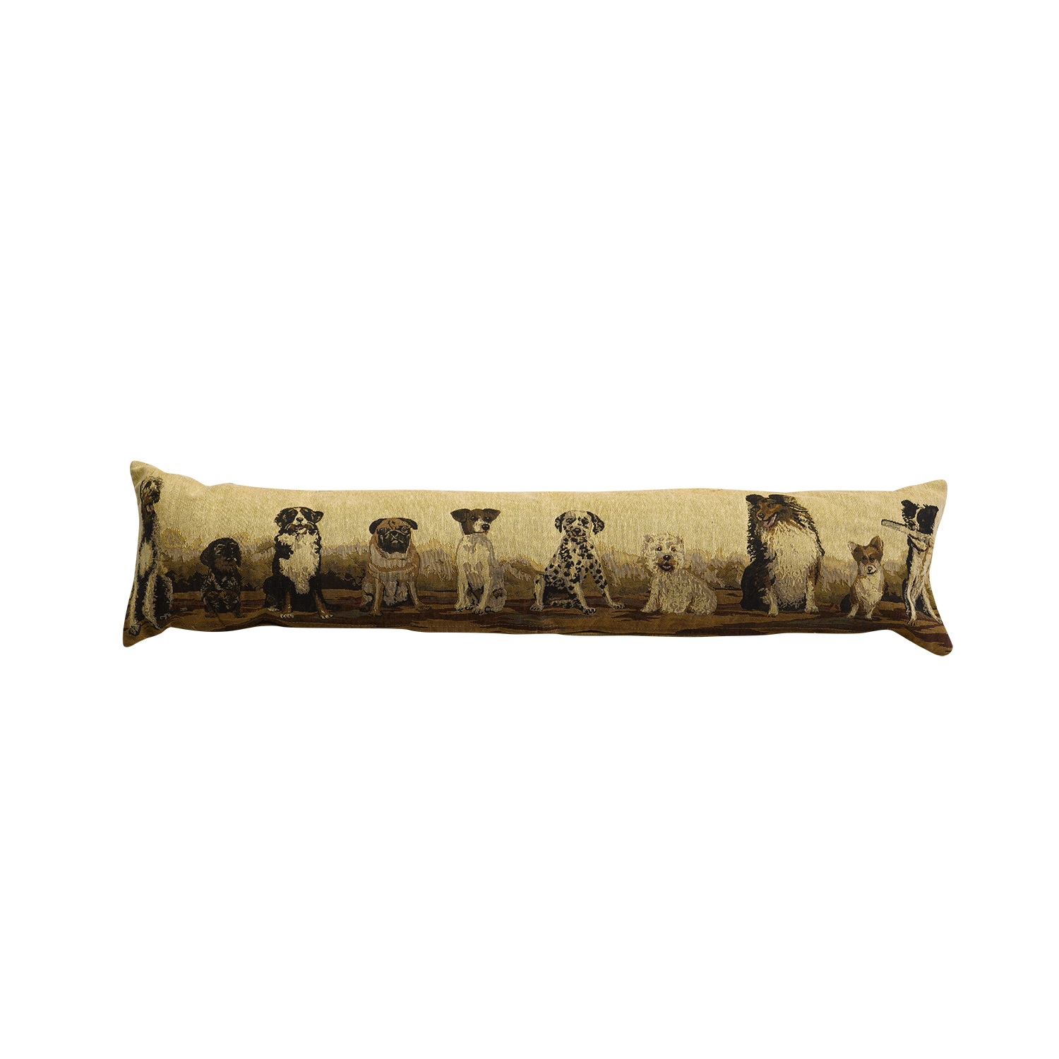 Tapestry Style Animals Fabric Draught Excluder Door Stop