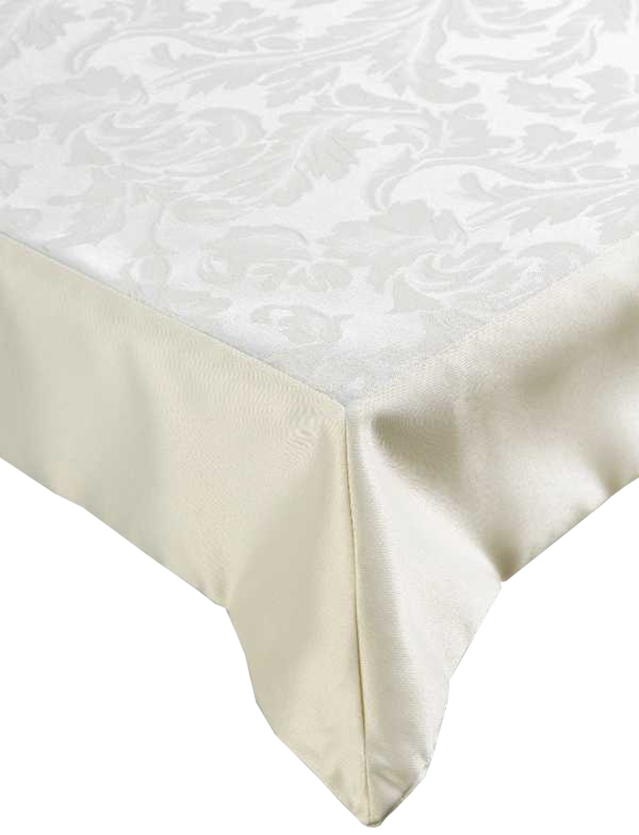 Cream Jacquard Damask Large Tablecloth Kitchen Home Cotton  : sarah damask tablecloth extra large banquet home hotel quality table linen cream from www.ebay.co.uk size 1300 x 1700 jpeg 162kB