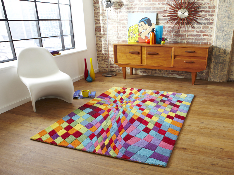 Multi Coloured Rug Rugs Ideas
