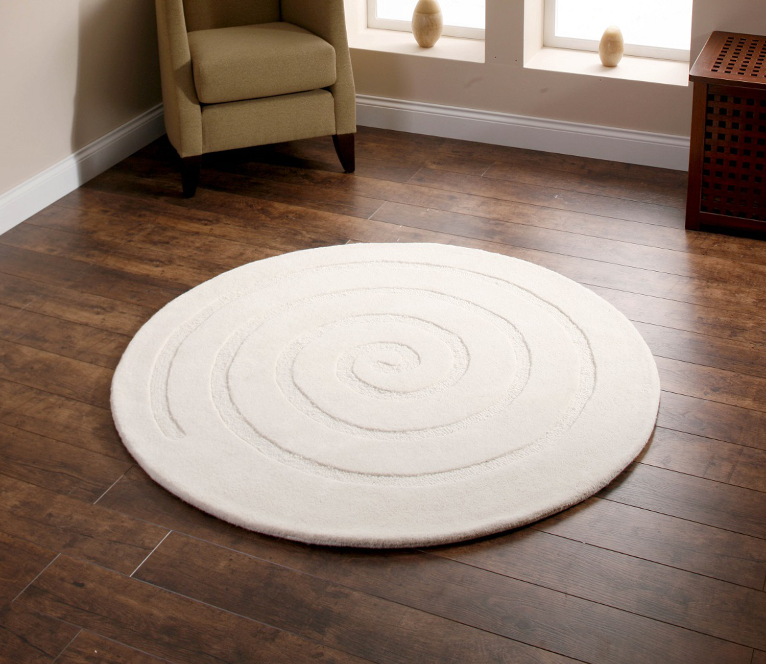 Large Circle Rug Uniquely Modern Rugs