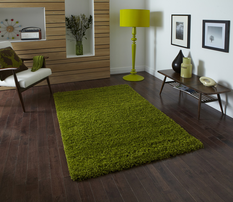 Modern Plain Shaggy 5cm Pile Rug Vista Machine Made Large Fluffy Mat Home Decor