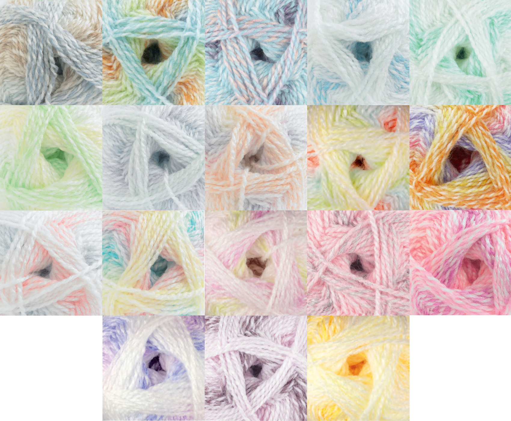 Baby Marble Double Knit DK Yarn James Brett Soft Acrylic Knitting Wool 100g Ball