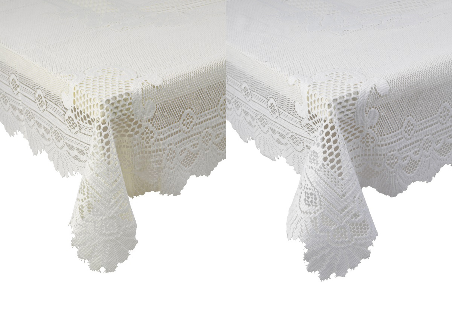 Round Kitchen Table Cloth Traditional Rose Pattern Lace Table Cloth Round Square Or Oblong