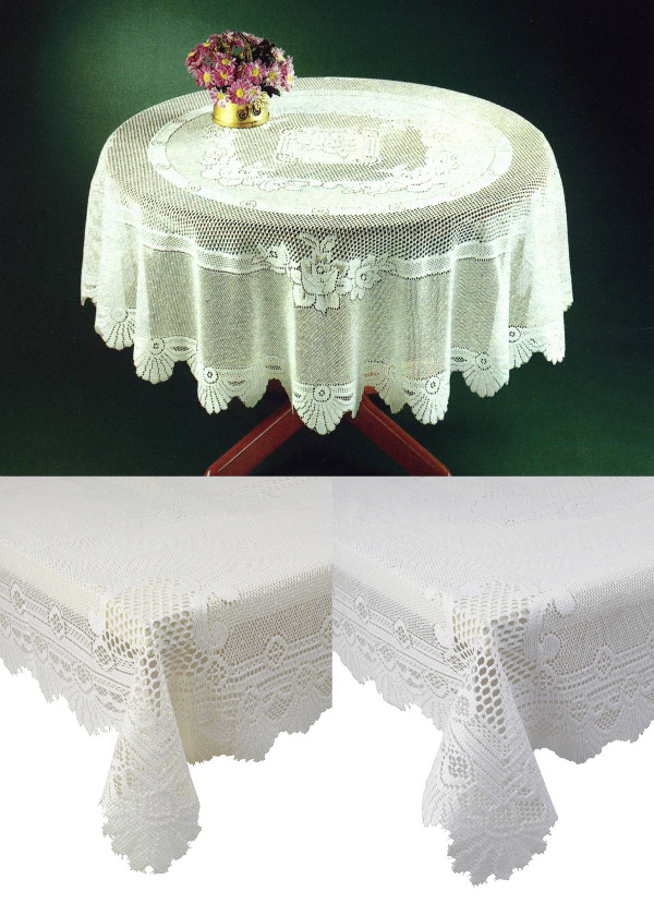 Dining Table Tablecloth Oval Dining Table : monica lace tablecloth round oval square oblong white cream from choicediningtable.blogspot.com size 600 x 828 jpeg 185kB