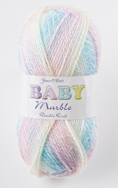 Baby Marble Double Knit DK Yarn James Brett Soft Acrylic ...