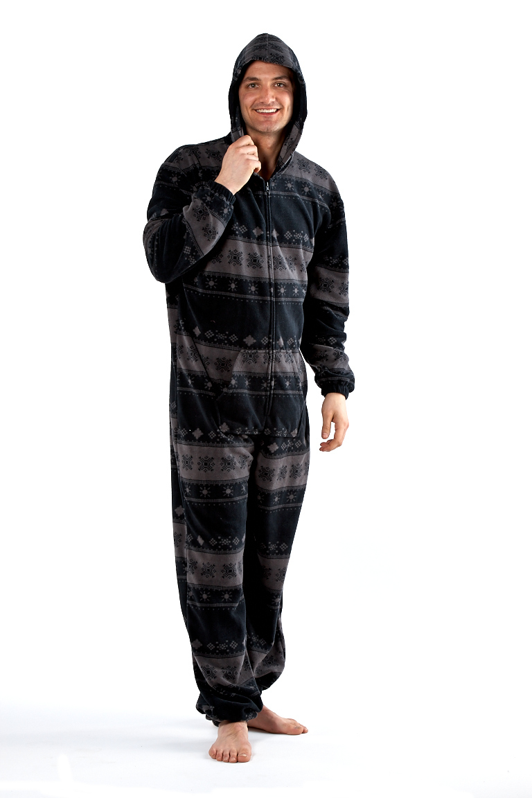 Big Feet Pajama Co. Fleece Footed Onesie Pajamas Fleece is an excellent fabric choice when selecting onesie pajamas; however, not just any fleece will make great sleepwear. Big Feet Pajama micro fleece footed pajamas are made using premium % polyester micro polar fleece.