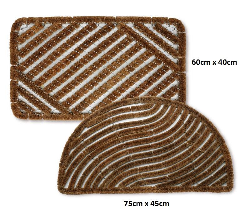 Charmant Bradfield Heavy Duty Coir Door Mat Traditional Outdoor