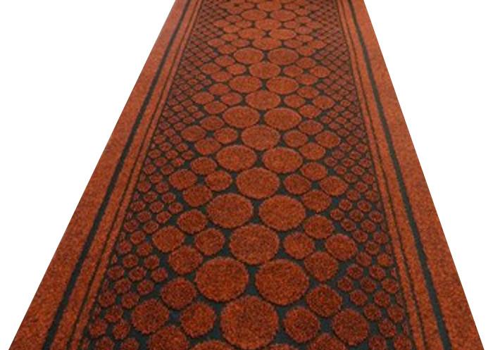 Long Hallway Polypropylene Carpet Runner Traditional Floor Rug Durable Protector