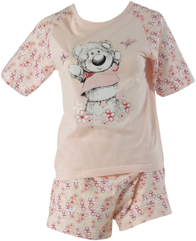 Cutie bear pyjamas ladies short sleeve t shirt shorts T shirt and shorts pyjamas
