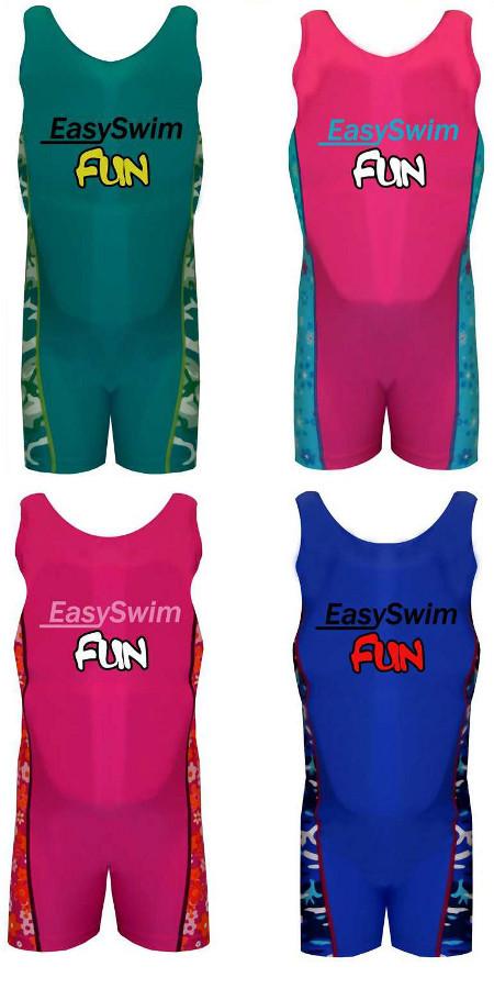 ac45313aea86e Image is loading Girls-Safety-Float-Swim-Suit-Boys-EasySwim-Fun-
