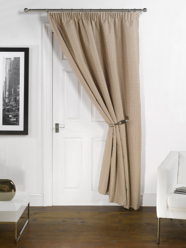 Emma-Barclay-Thermal-Door-Curtain-Energy-Saving-Pencil- & Emma Barclay Thermal Door Curtain Energy Saving Pencil Pleat Panel ... Pezcame.Com