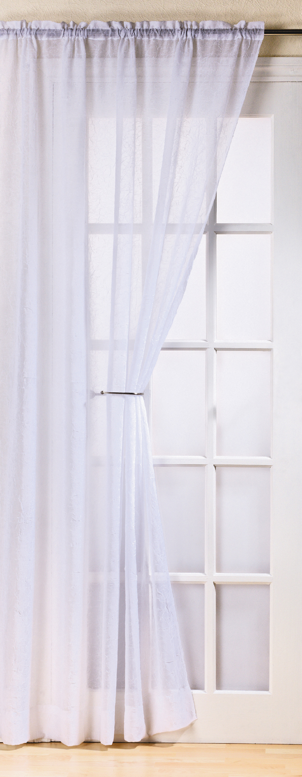 vorhang t r fenster fidschi slot top gerafft netz voile panel knitter dekor ebay. Black Bedroom Furniture Sets. Home Design Ideas