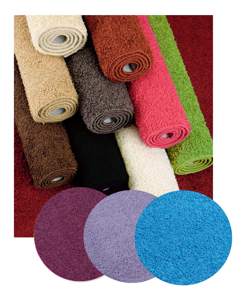 Fiji Machine Washable Rectangular Polypropylene Rug Shaggy