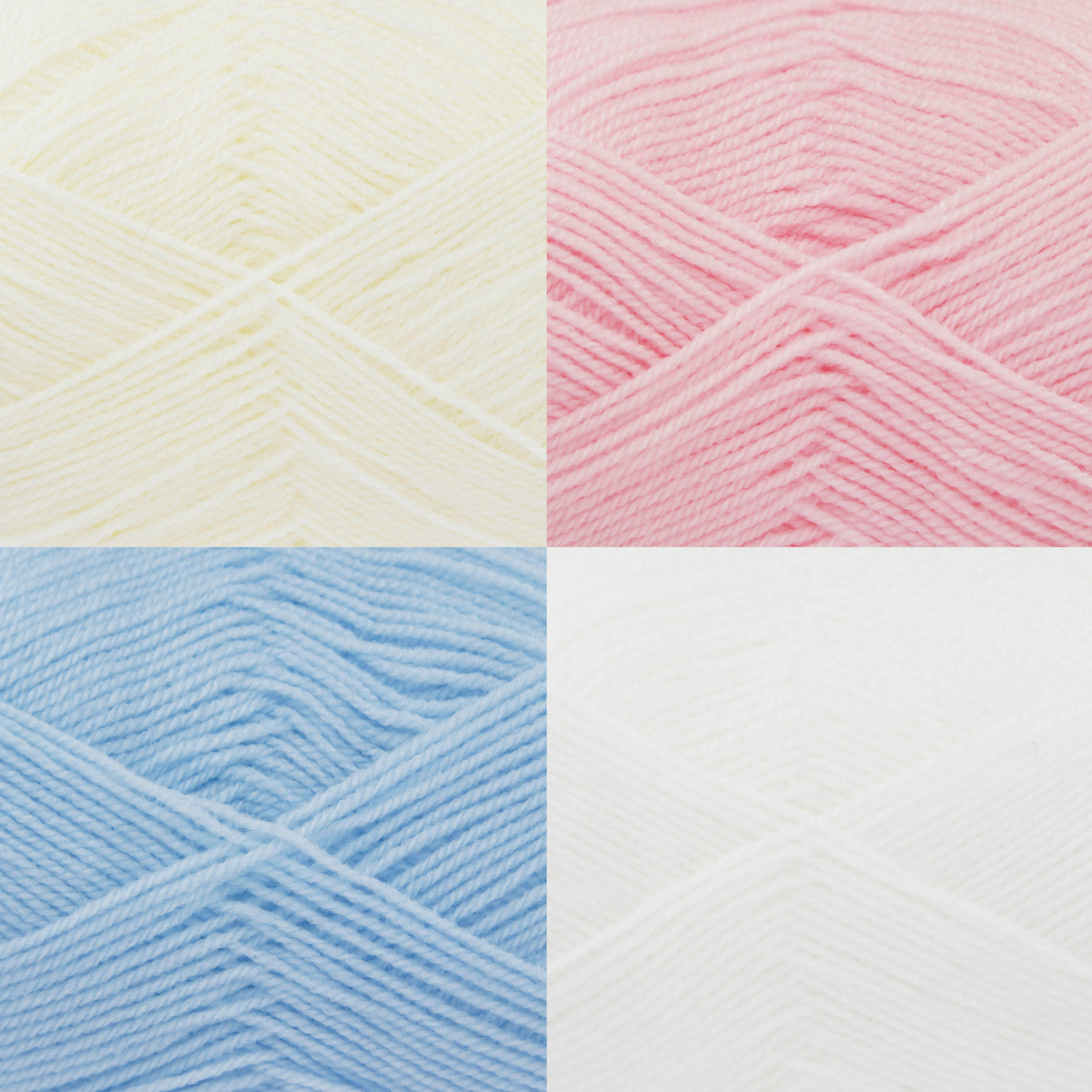 Knitting Patterns 4 Ply Wool : Big Value 4 Ply King Cole Acrylic Yarn 100g Ball Soft Wool Free Knitting Pattern