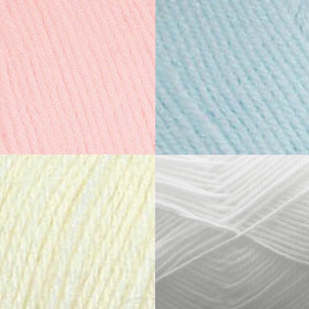 Ball Comfort Baby 4 Ply Knitting Yarn King Cole Soft Acrylic & Nylon Wool...