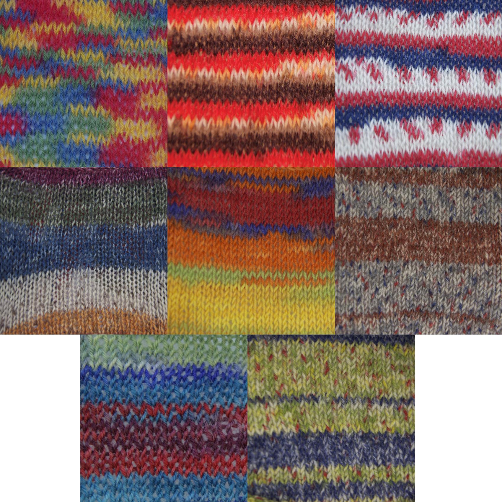 Knitting Patterns 4 Ply Wool : Zig Zag 4Ply 100g Ball Superwash Knitting Wool & Nylon Soft Sock Yarn Kin...