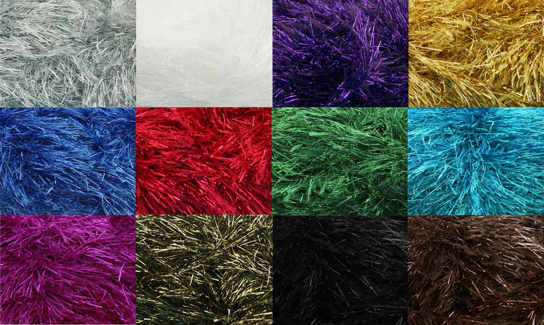 50g King Cole Tinsel Chunky Knitting Craft Yarn Festive ...