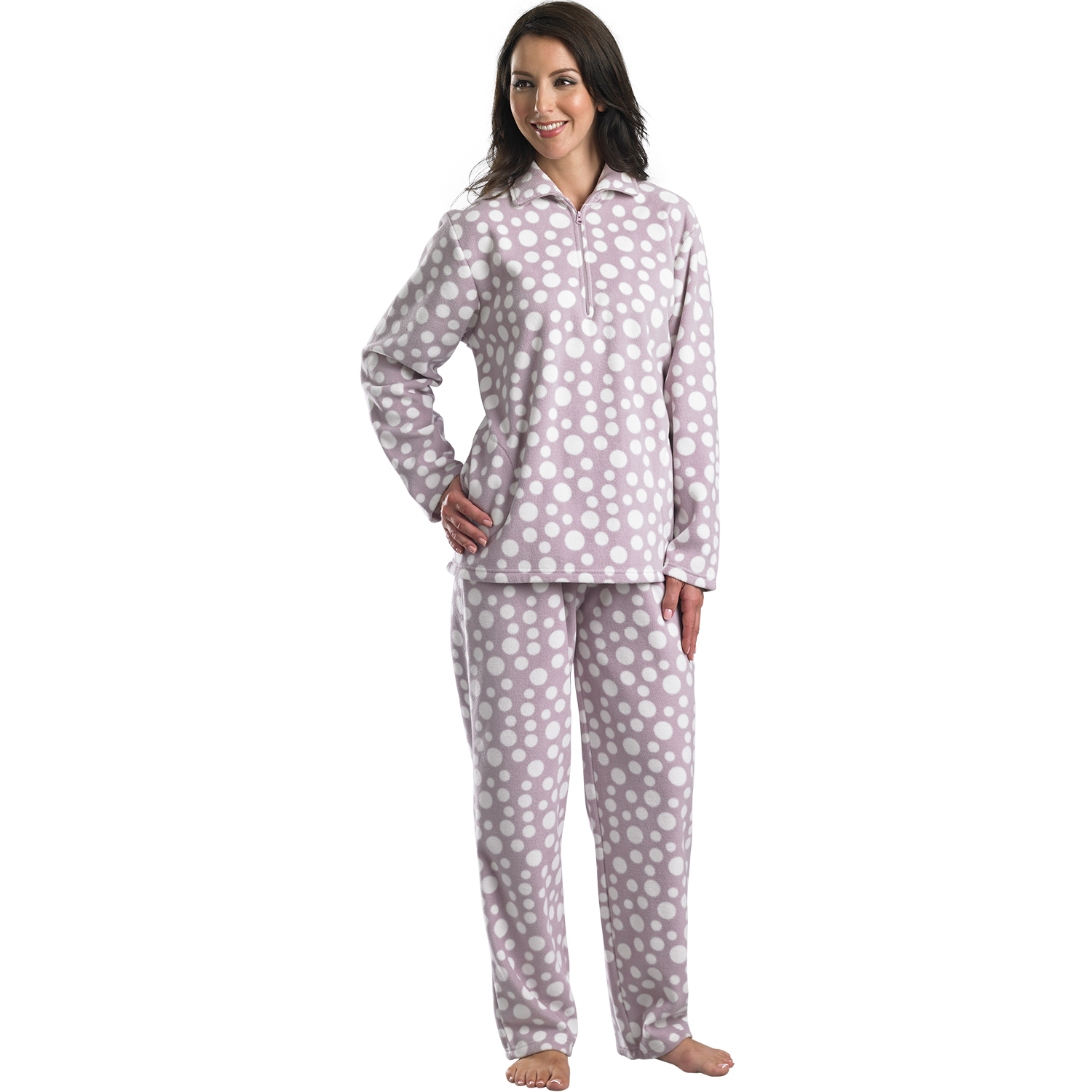 Our collection of women's nightwear is designed to keep you comfortable all night. On warm evenings, opt for a lightweight nightshirt in a pastel hue or a % .