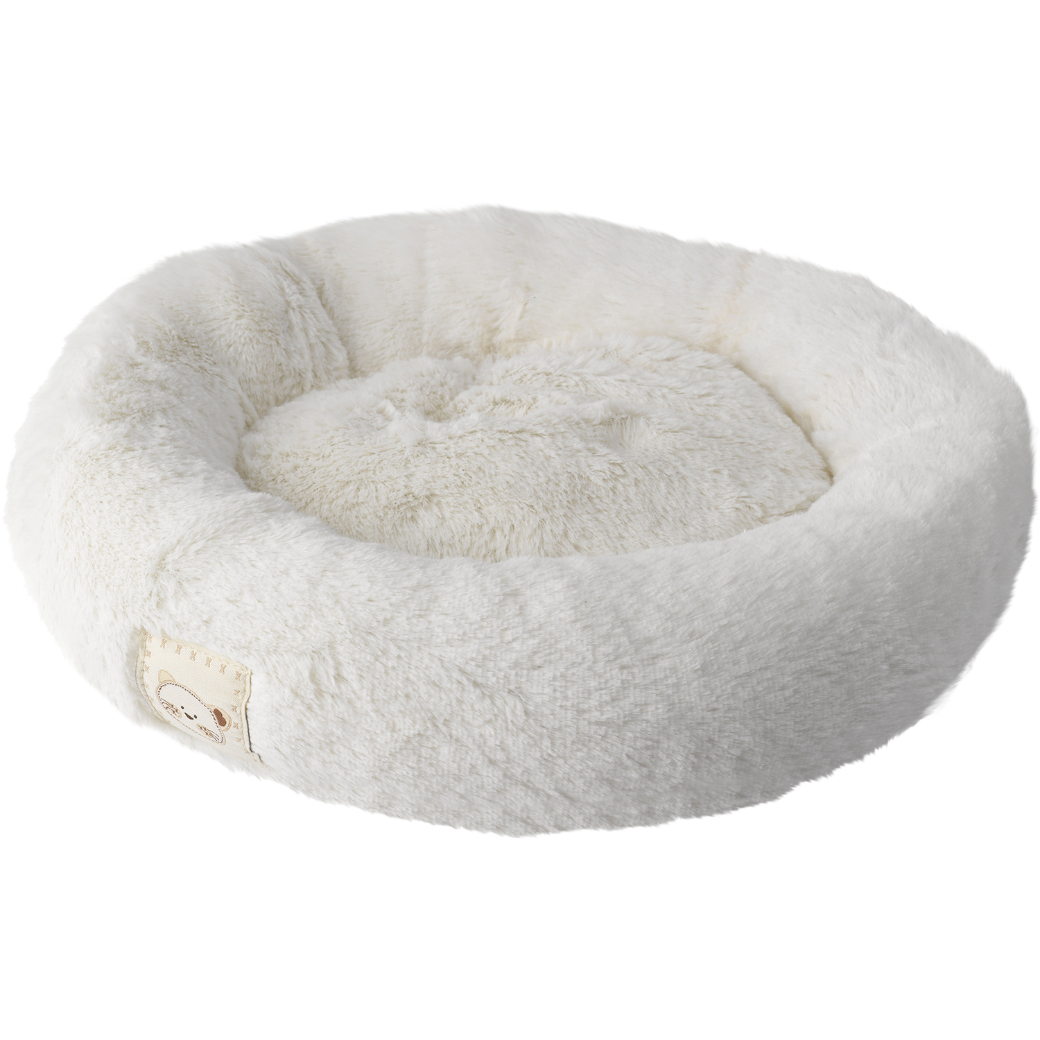 Pet Face Precious Paws Round Kitten Cat Bed