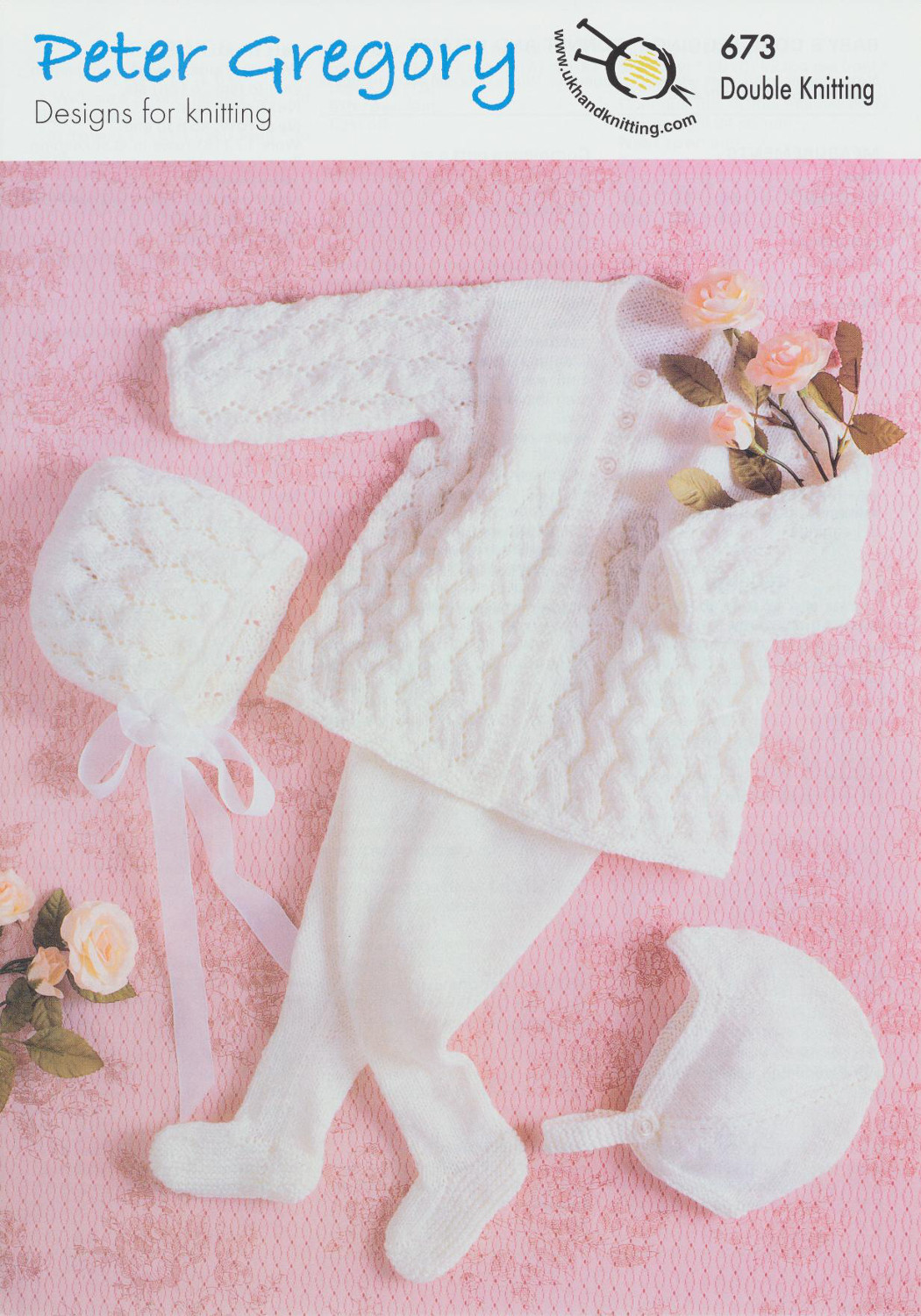Scarves Knitting Patterns Free : Baby Double Knitting Pattern Coat Coat Leggings Accessories Peter Gregory DK ...