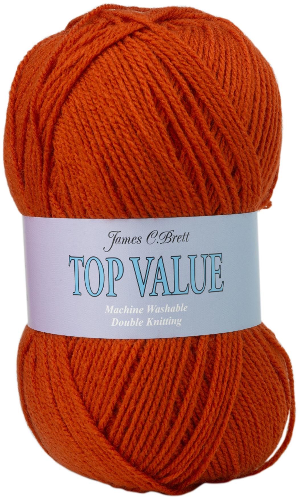 Acrylic Yarn : ... -Top-Value-DK-Machine-Washable-Yarn-100-Acrylic-Double-Knitting-Wool