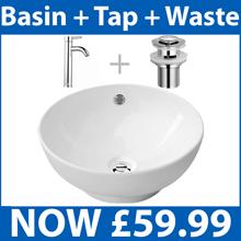 Basin + Tap + Waste