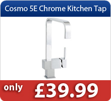 Cosmo 5E Chrome Kitchen Tap