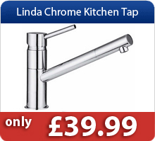 Linda Chrome Kitchen Taps