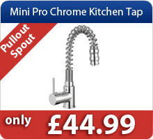 Mini Pro Chrome Kitchen Tap