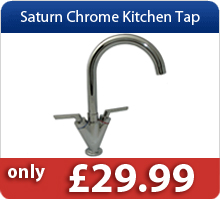 Saturn Chrom Kitchen Taps