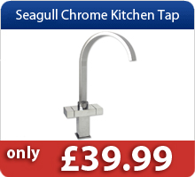 Seagull Chrom Kitchen Taps