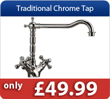 Traditional Chrome Tap