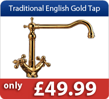 Traditional English Gold Tap