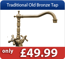 Traditional Old Bronze Tap